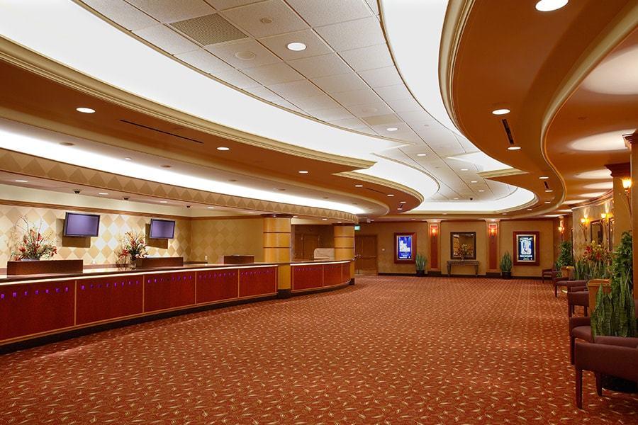 Mystic Lake Casino Showroom Bergman Walls Amp Associates
